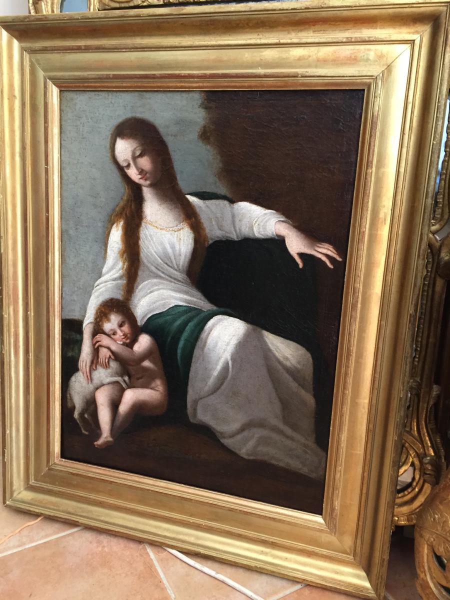 Jeune femme et son fils-photo-5