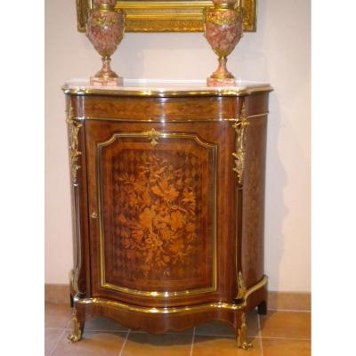 Support Furniture Napoleon III Marquetry