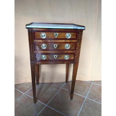 Table Chiffonnière Louis XVI Fin 18ème