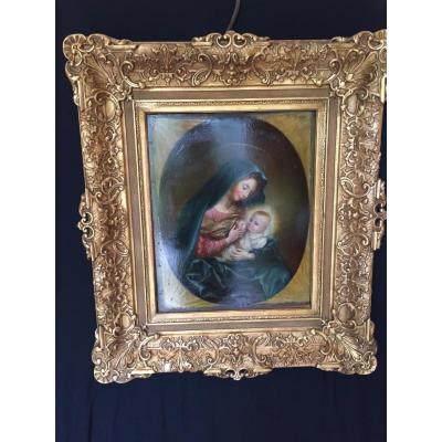 Vierge à l'Enfant XIX éme