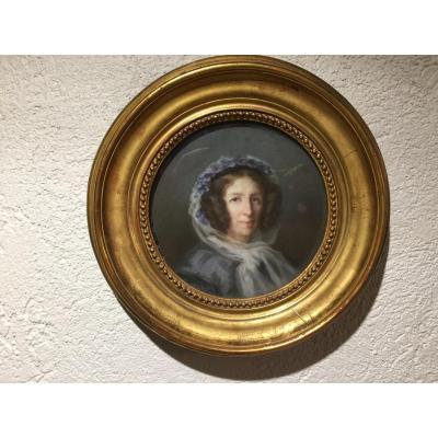 Portrait d'Une Dame De Qualite
