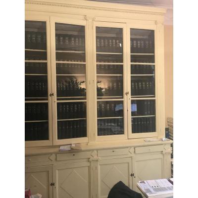 grande Bibliothèque Directoire à Huit Portes
