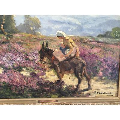 Fernand Maillaud 1863 1948 ecole de Crozant
