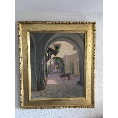 Scène Orientaliste Antoine Ponchin