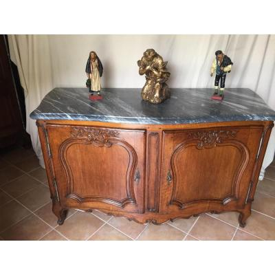Provencal Hunting Buffet Curved All Faces 18th