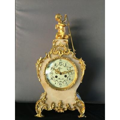 Napoleon III Rocaille Style Cartel