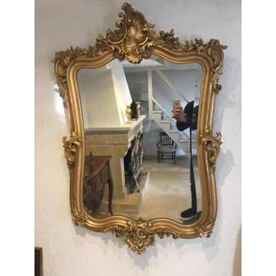 Miroir Rocaille De Style Louis XV