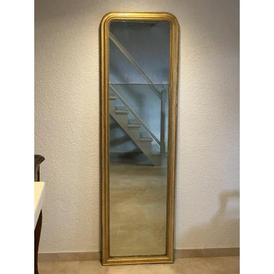 Louis Philippe Hallway Mirror Stuc And Golden Wood