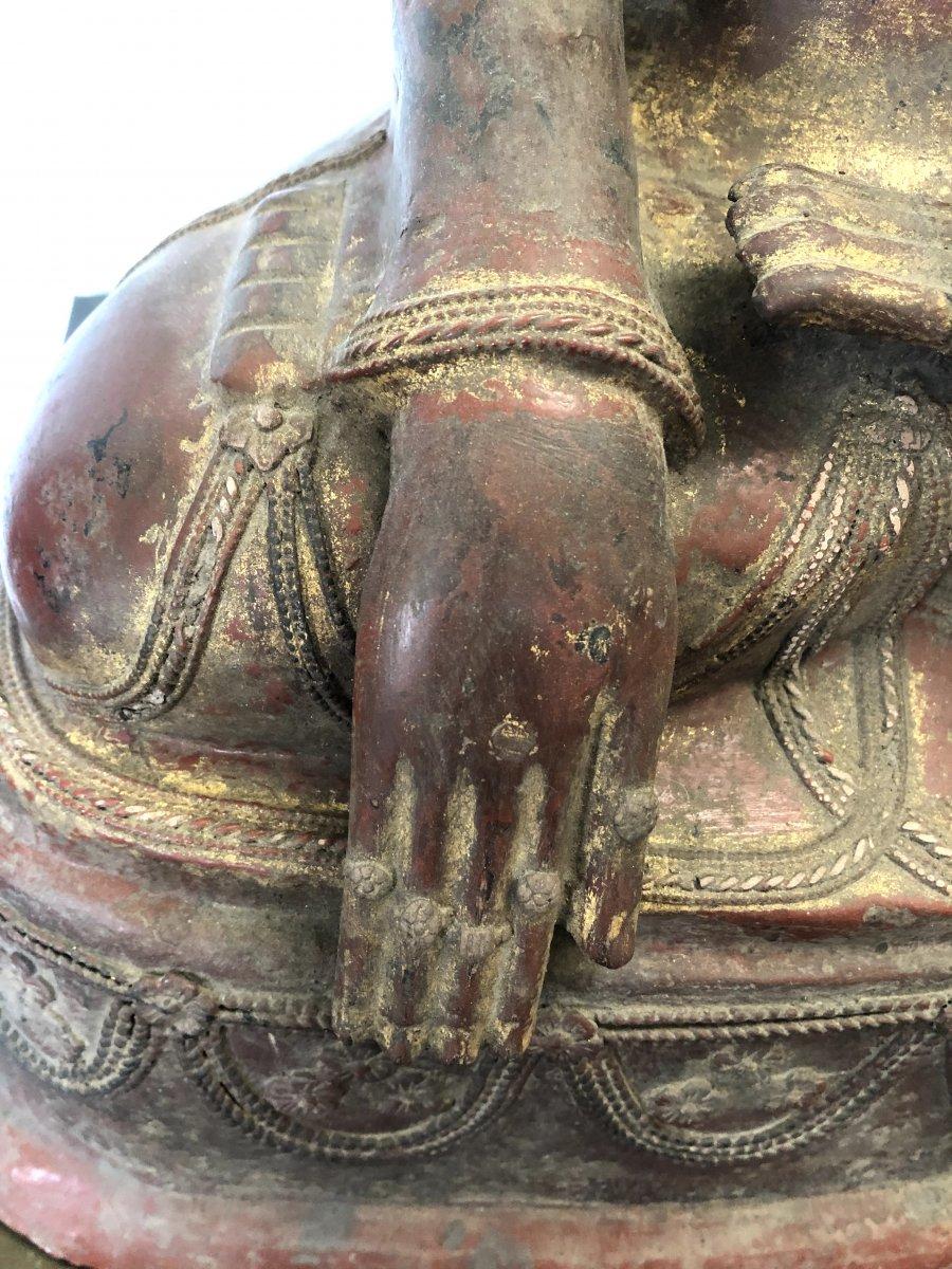 King Bouddha Maravijaya , Province Shan , Birmanie ,   18 é Siecle -photo-1