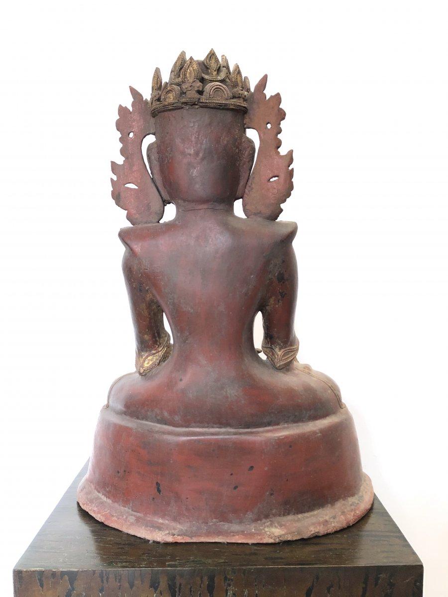King Bouddha Maravijaya , Province Shan , Birmanie ,   18 é Siecle -photo-6