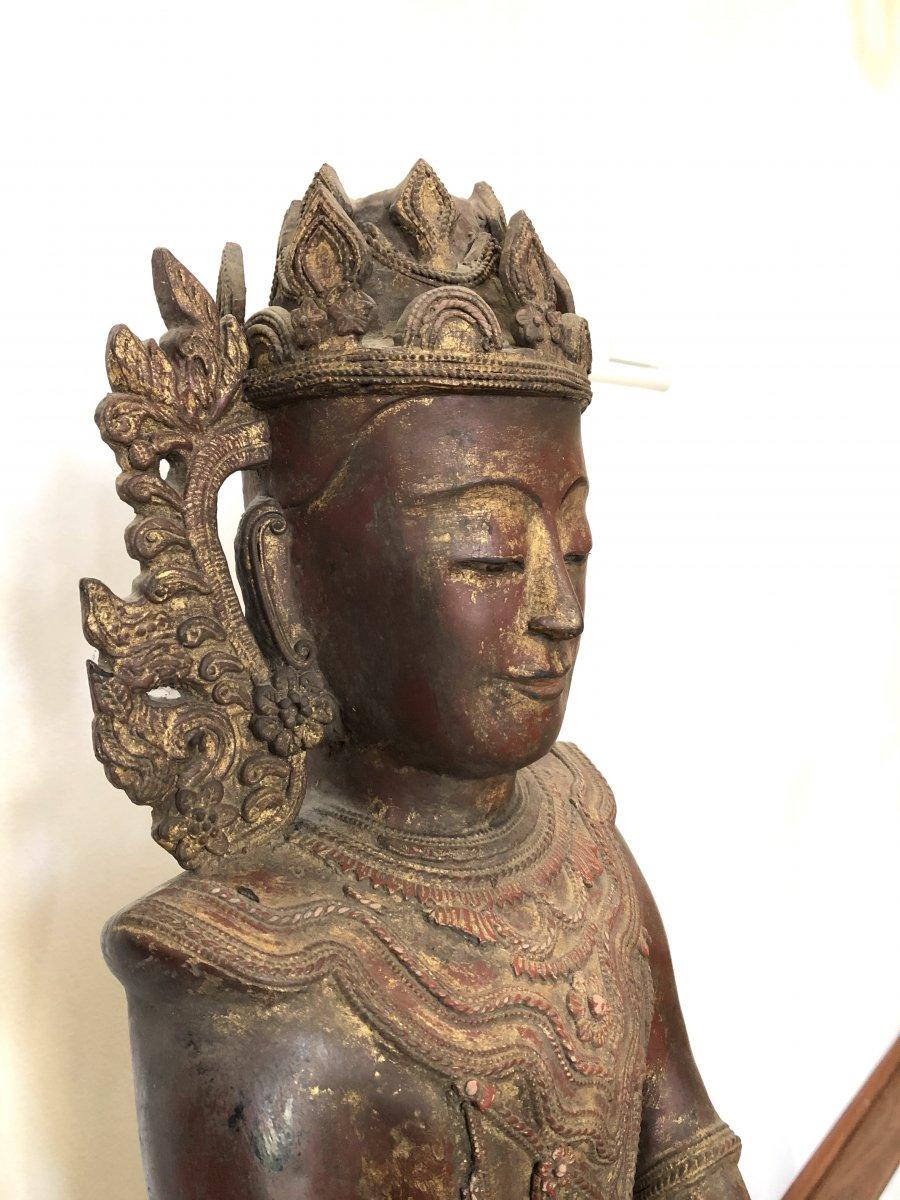 King Bouddha Maravijaya , Province Shan , Birmanie ,   18 é Siecle