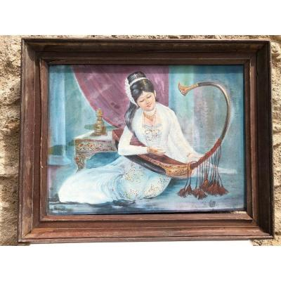Peinture Traditionelle  Birmanie
