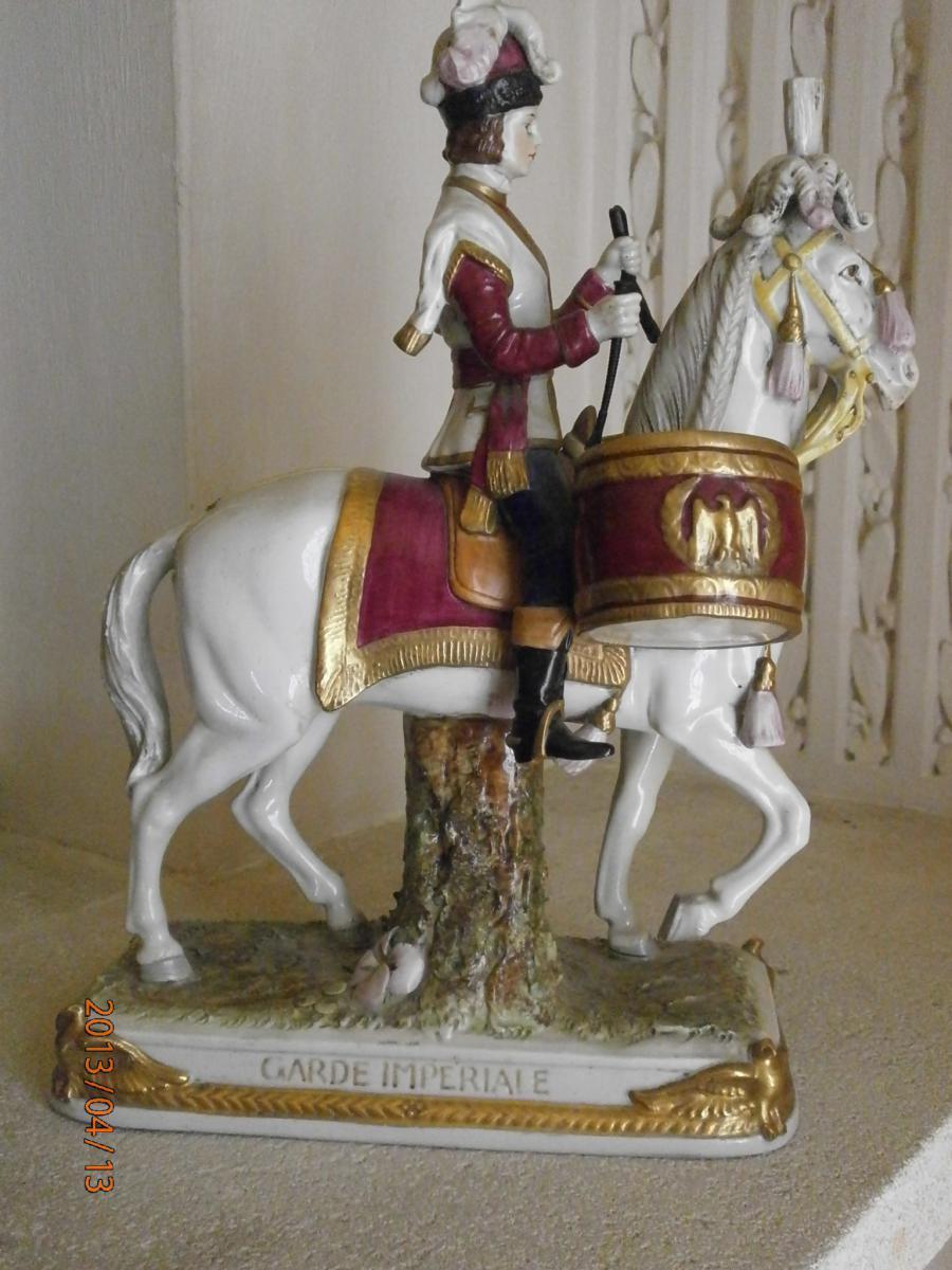 Cavalier De La Garde Imperial Porcelain
