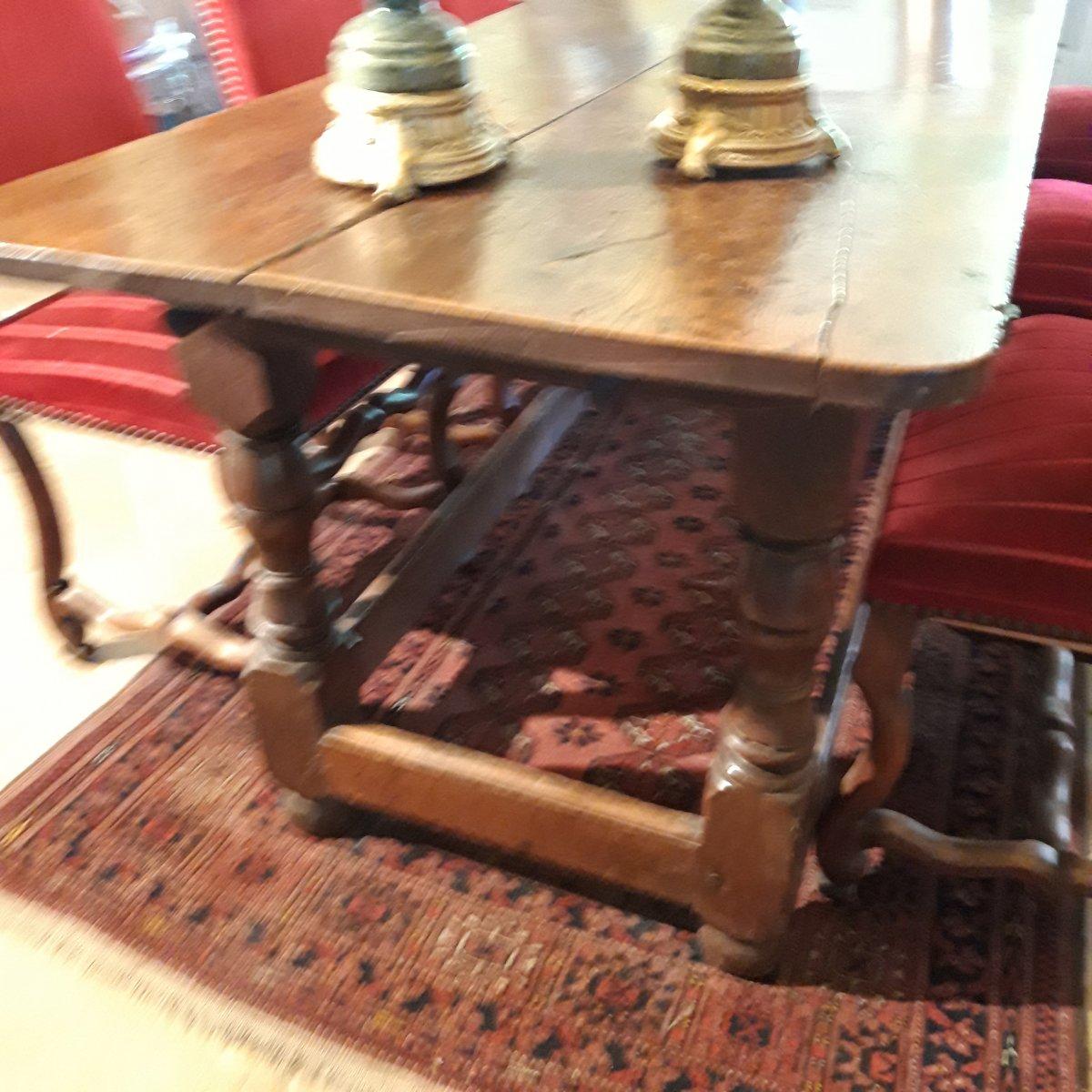 Console D'Appui  ou Table D'office de couvent 17 ème-photo-2