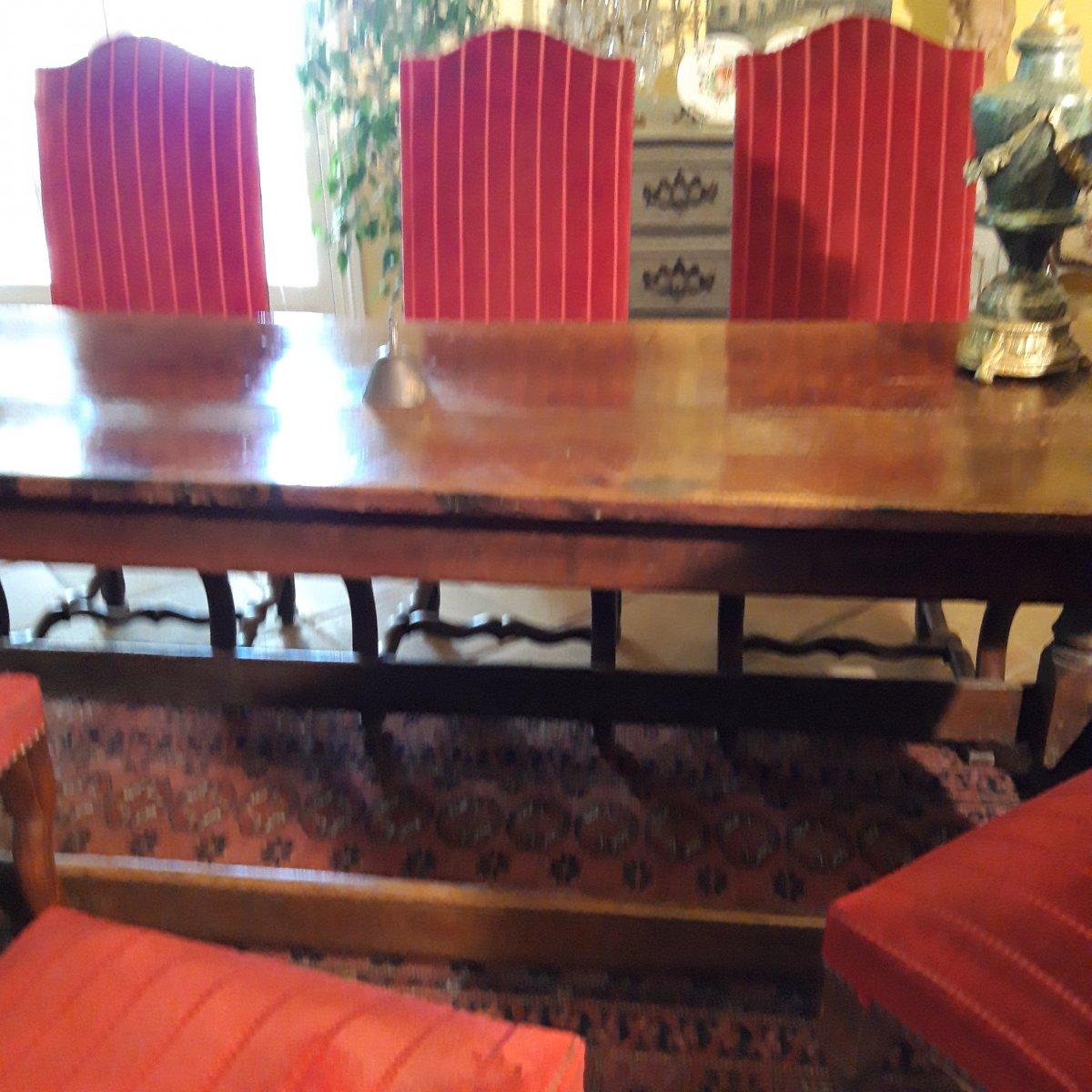 Console D'Appui  ou Table D'office de couvent 17 ème-photo-3