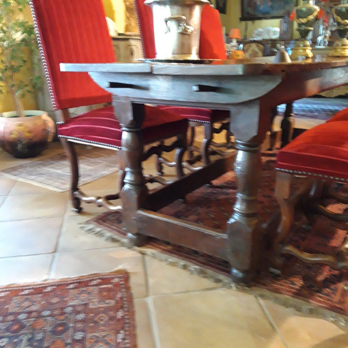Console D'Appui  ou Table D'office de couvent 17 ème-photo-1