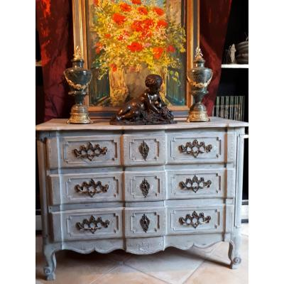 Louis XVI Painted Commode 18th