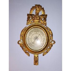 Baromètre  Louis XVI 18ème