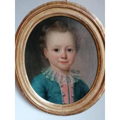 18th French School, Portrait Of A Child