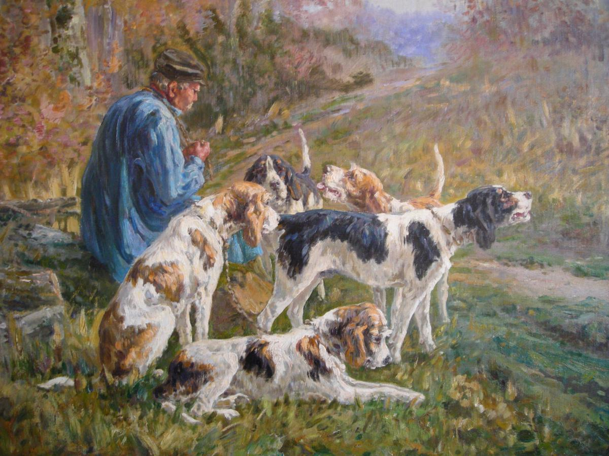 The Rest Of The Hunting Dogs By Marie Calvès