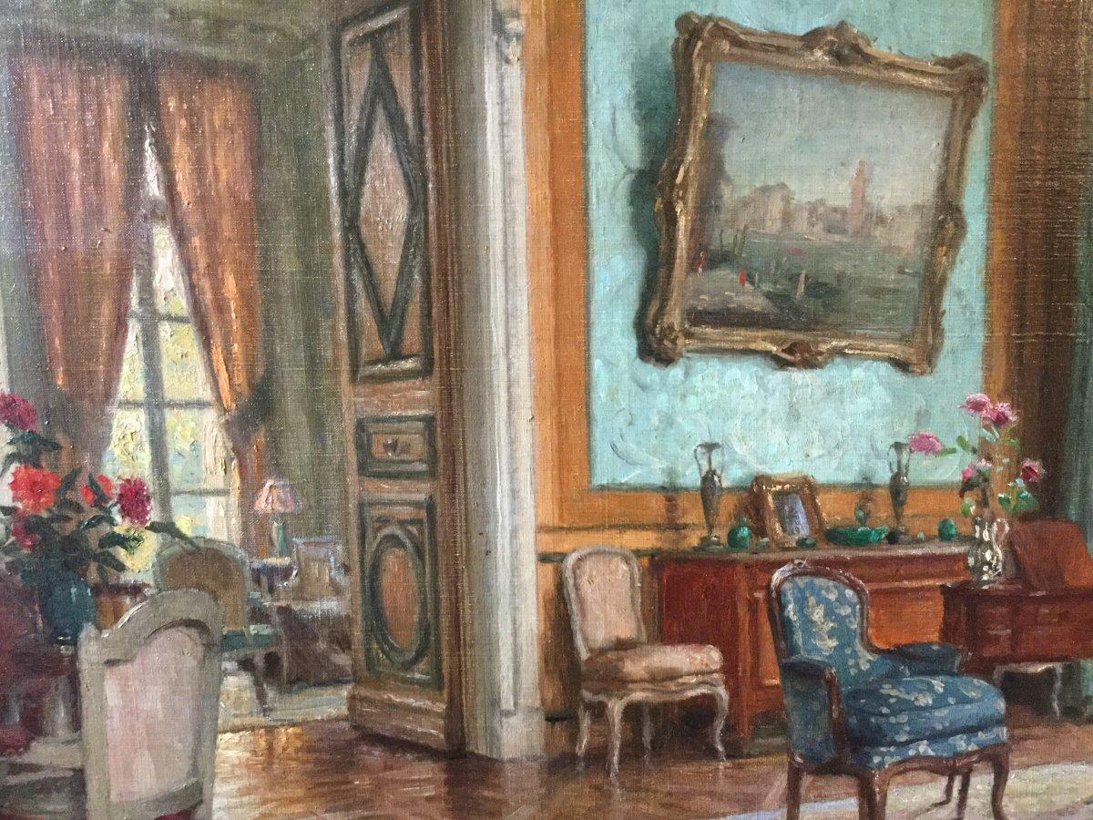 Lounge Interior By Léonce De Joncières