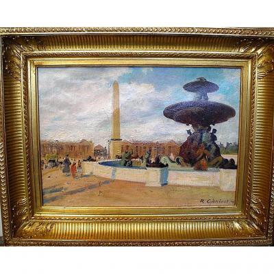 La place de la Concorde à Paris, par Robert Génicot