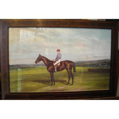 Le jockey par Jonny Audy