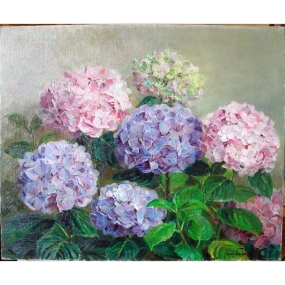 Les hortensias par Jean Verdier (1889-1976)