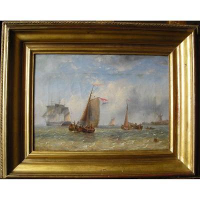 Marine hollandaise du début du 19e siècle