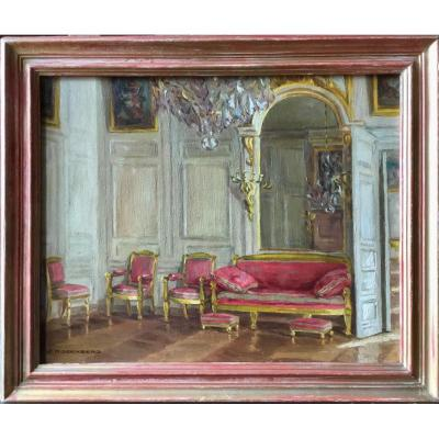 Living Room Interior In Versailles By Jeanne Rosenberg