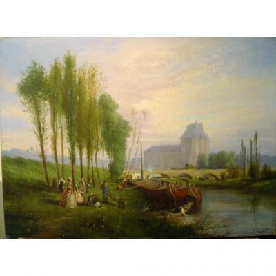 Bord de rivière animé par Louis Basset