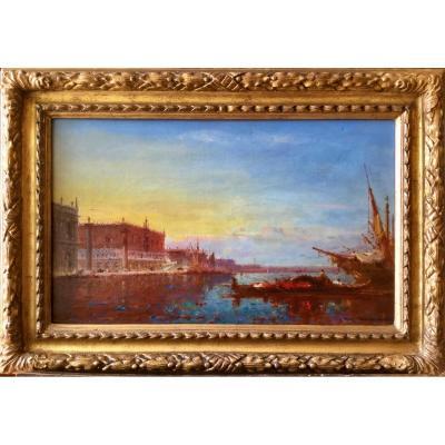 Vue de Venise par Henri Duvieux
