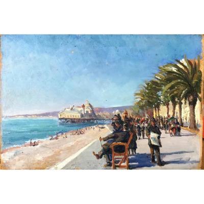 La Promenade des Anglais à Nice par Jacques Simon