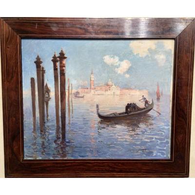 Vue de Venise par Suzanne Adam-Laurens  (1861-1915)