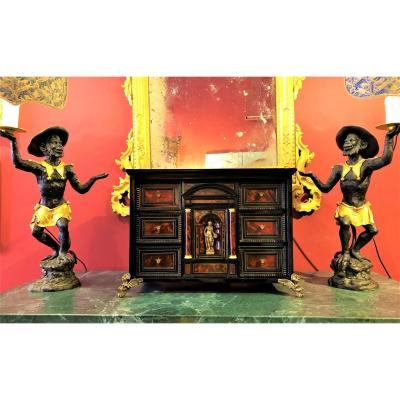 Table Cabinet, XVII Century Period
