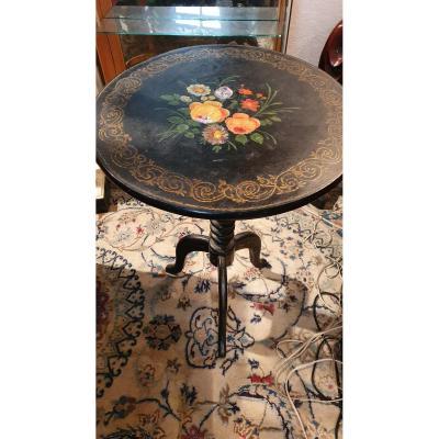Small Napoleon III Pedestal Table
