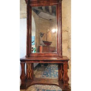 Console Glace Epoque Charles X