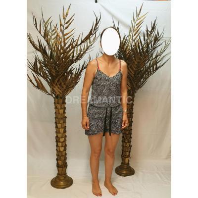 Paire De Palmiers En Bronze Et Laiton Maison Jansen Ou Charles Ou Autre ??