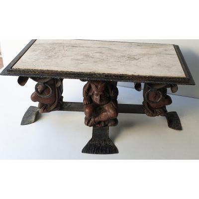 Table Basse Jean-maurice Rothschild Vers 1950 Grand Modéle