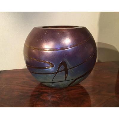 SOISY SUR ECOLE (XXe siècle) - Vase
