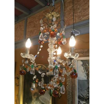 Small Chandelier With Three Lights