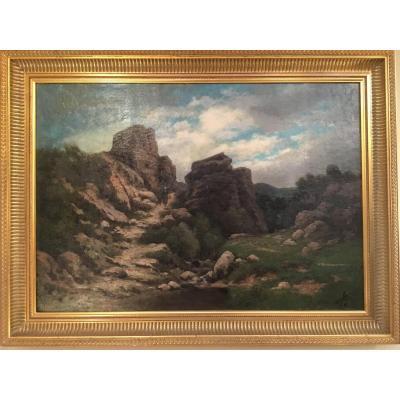 FONVILLE Horace (1832-1914) - Paysage
