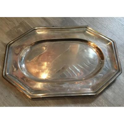 Gallia (christofle) - Silver Metal Dish