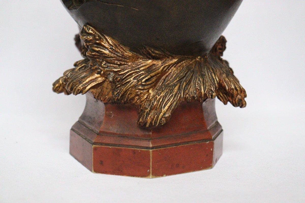 """""""Amour sortant de l'Oeuf"""" Figure en bronze par Auguste Moreau (1834-1917)-photo-6"""