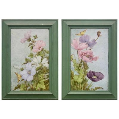 <em>&quot;Pavots&quot; and &quot;Lavateres&quot;<br />