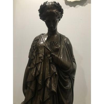 Jean-baptiste Clésinger(1814-1883) «sappho»