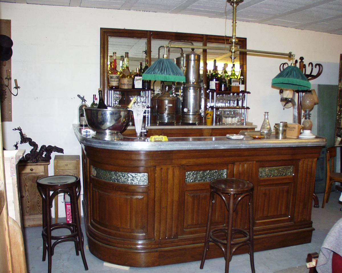 Bar d 39 angle art d co bars anciens - Bar art deco a vendre ...