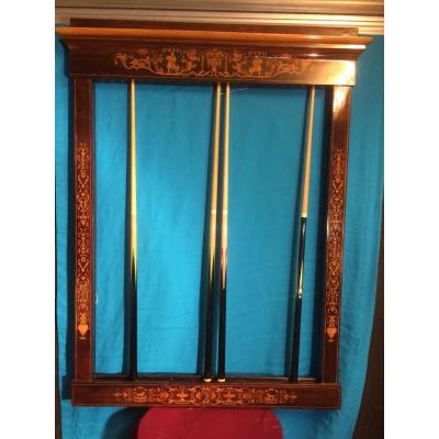 Billard ancien sur proantic louis philippe restauration for Porte queue billard moderne