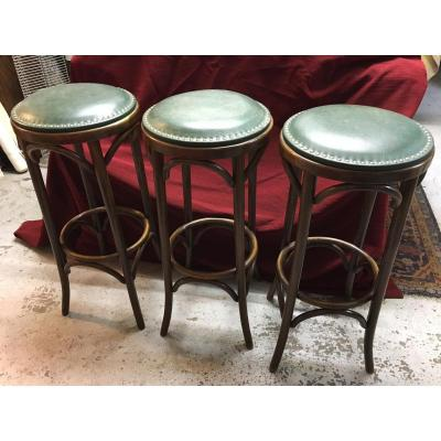 Tabourets de bar Thonet