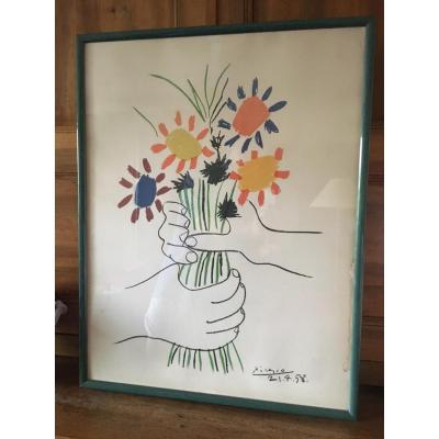 Gravure Picasso